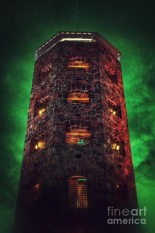 Duluth Photograph - Otherworldly Enger Tower by Ever-Curious Photography