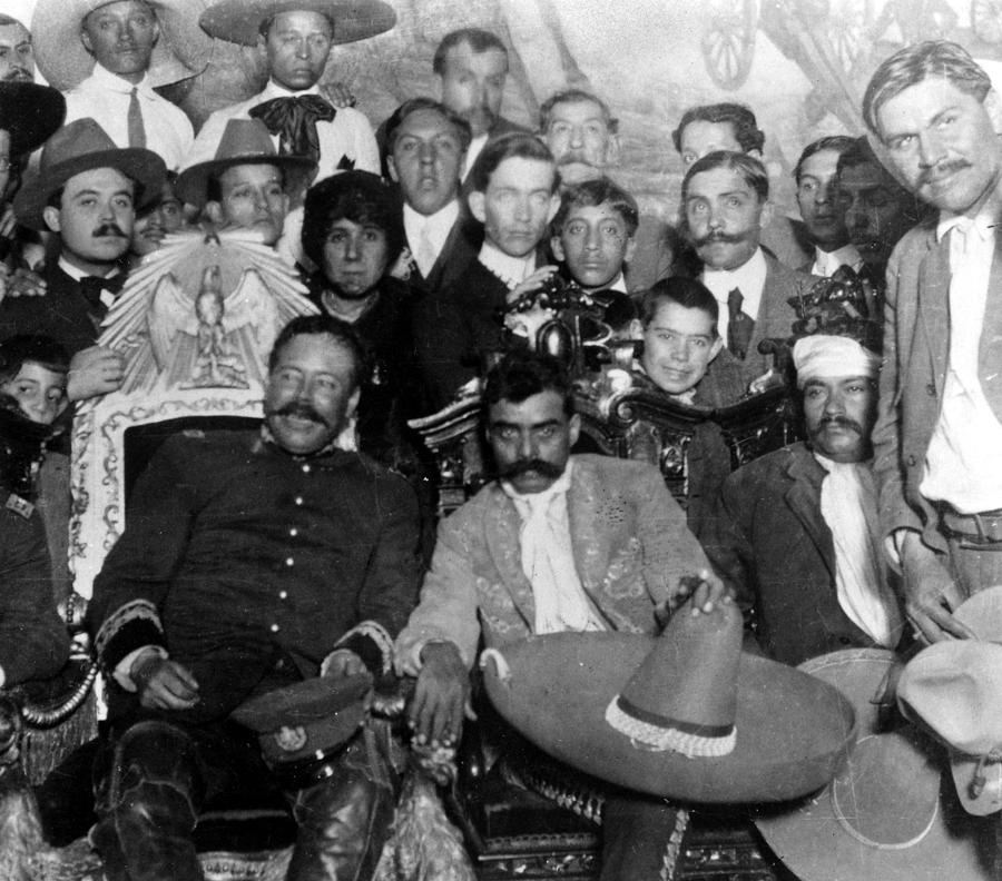 Otilio e montano emiliano zapata photograph by everett for Villas zapata