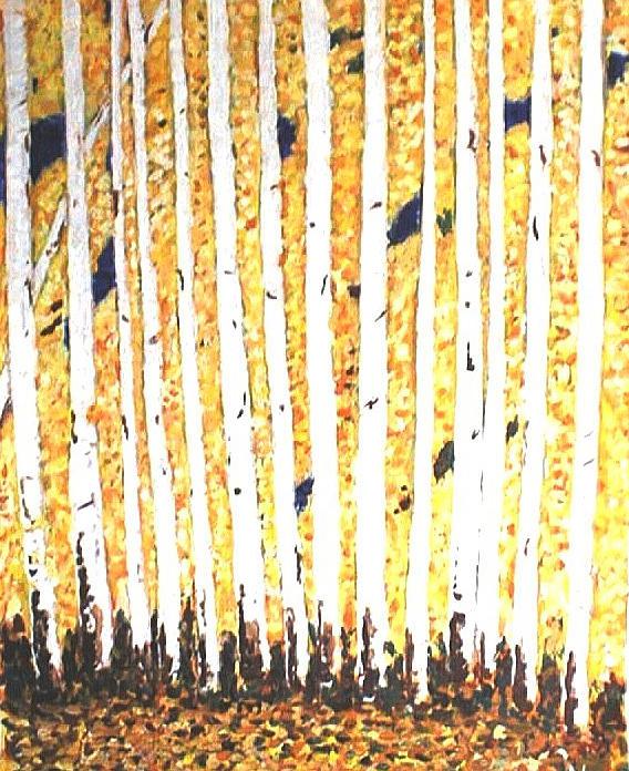 Fall Painting - Otono  by William Kairala