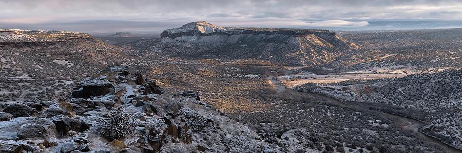 Otowi Winter by Andrew Gordon