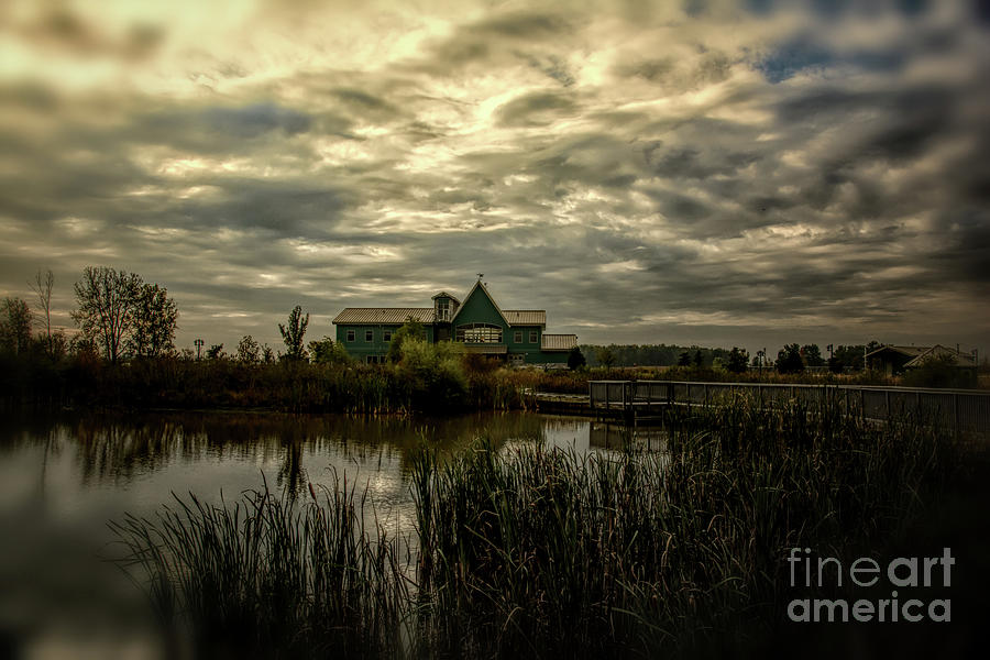 Nature Photograph - Ottawa Wildlife Refuge Visitor Center by Gaby Swanson
