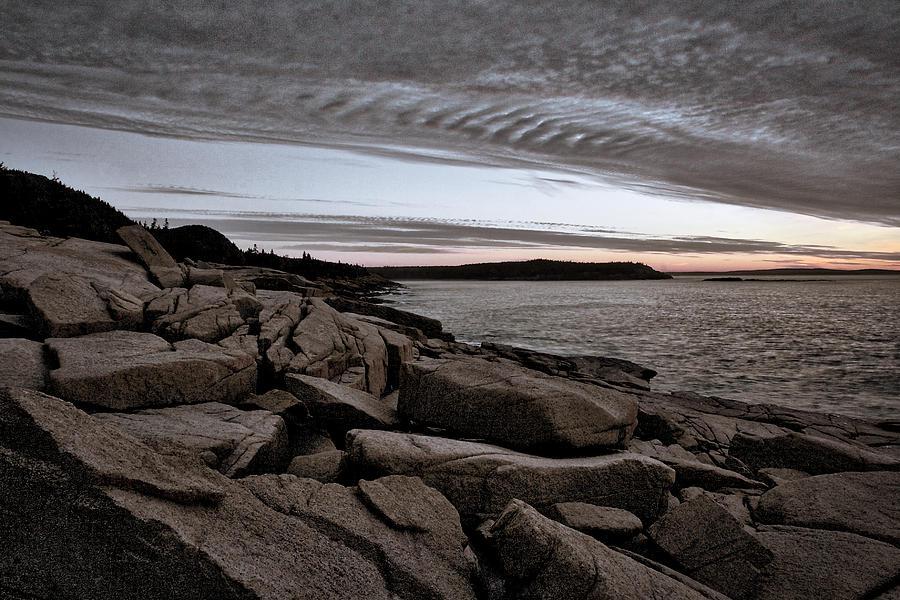 Otter Cliffs Photograph - Otter Cliffs Dawn #5 by Stuart Litoff