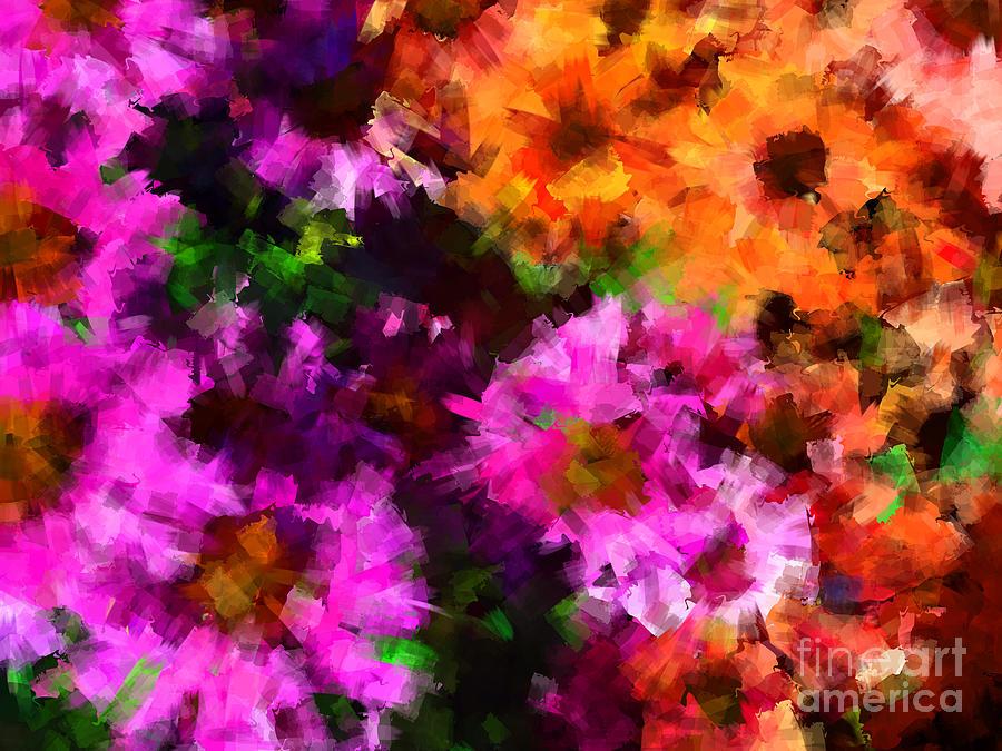 Flower Photograph - Our Garden 1 by Jack Gannon