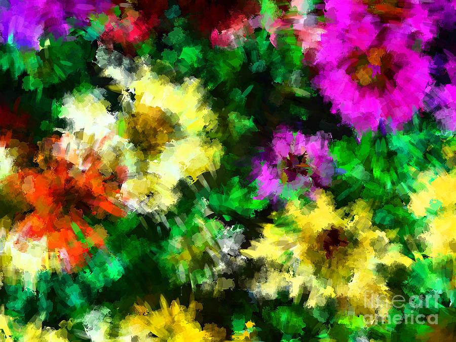 Flower Photograph - Our Garden 2 by Jack Gannon