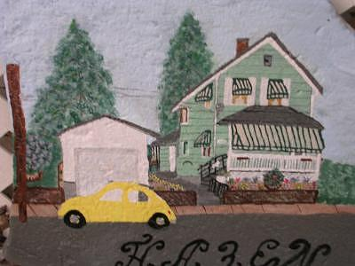 Our Home Mixed Media by Florence Hazen