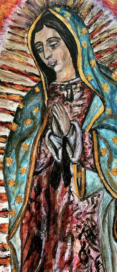 Our Lady Of Guadalupe Painting - Our Lady Of Guadalupe by Mikayla Ruth Koble