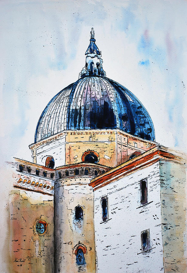 Churches Painting - Our Lady Of Loreto I by Neva Rossi