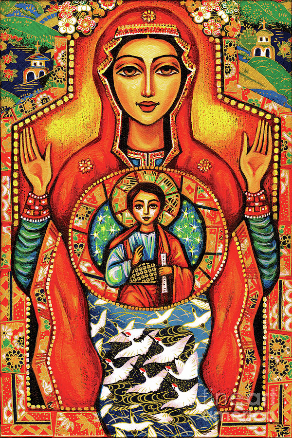 Our Lady of the Sign by Eva Campbell