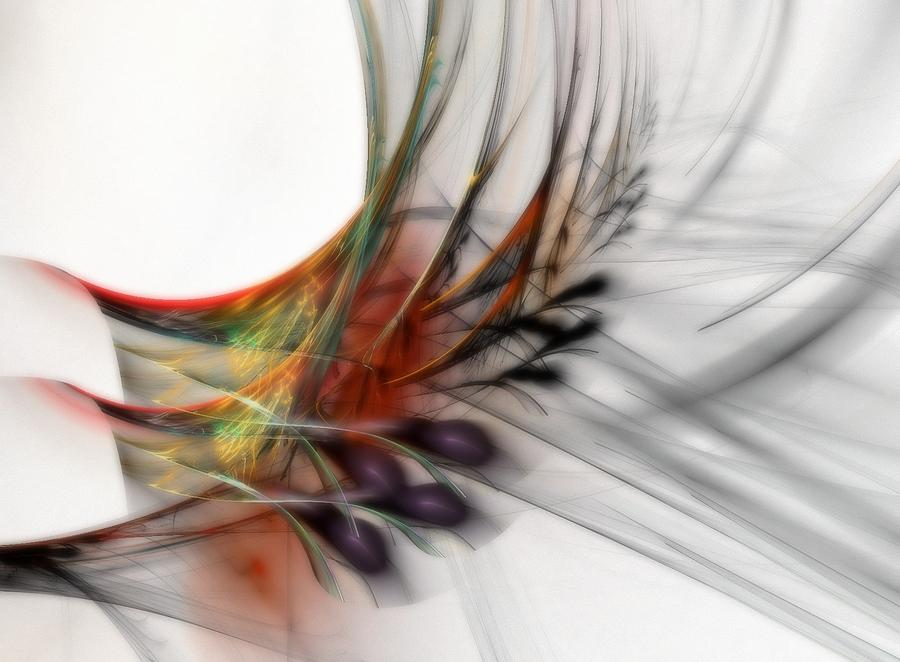 Abstract Digital Art - Our Many Paths by NirvanaBlues