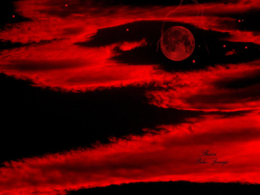 Planet Digital Art - Our Planet In A Fury by Sherris - Of Palm Springs