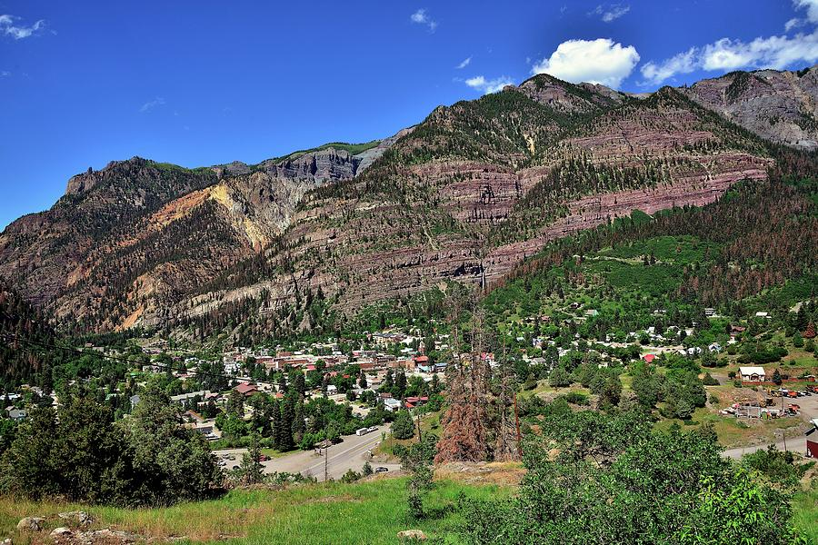 Mountains Photograph - Ouray, Colorado by Gerald Blaine