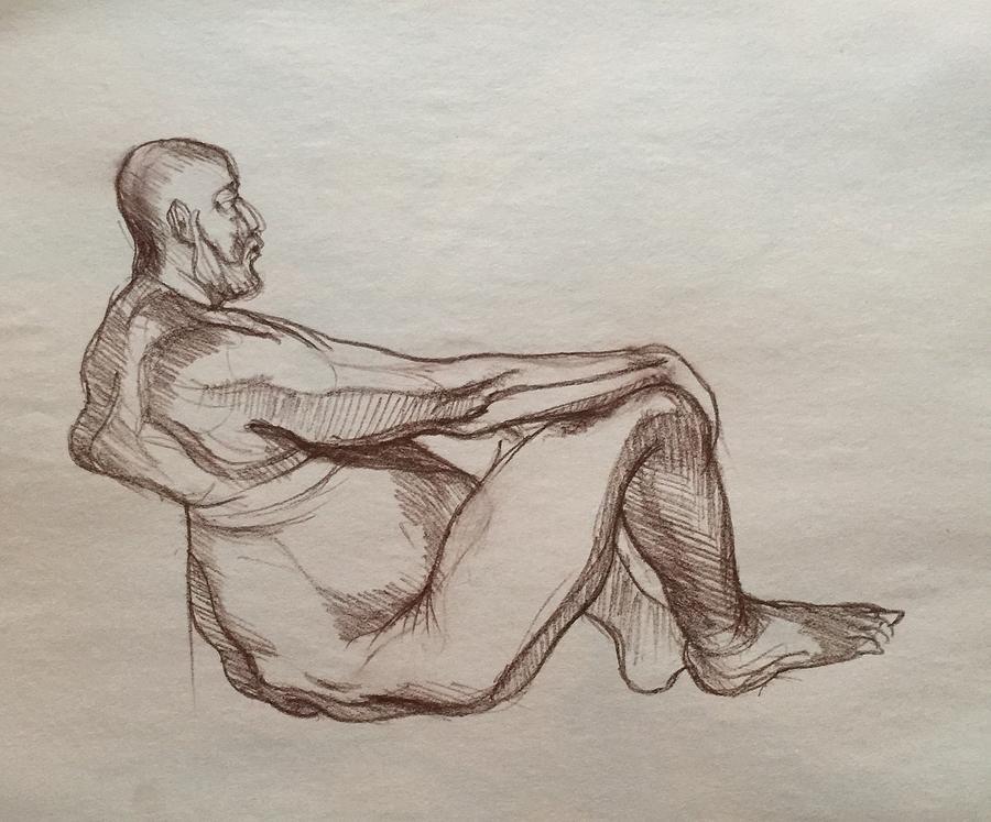 Out In Nature  Drawing by Anastasiya Baron