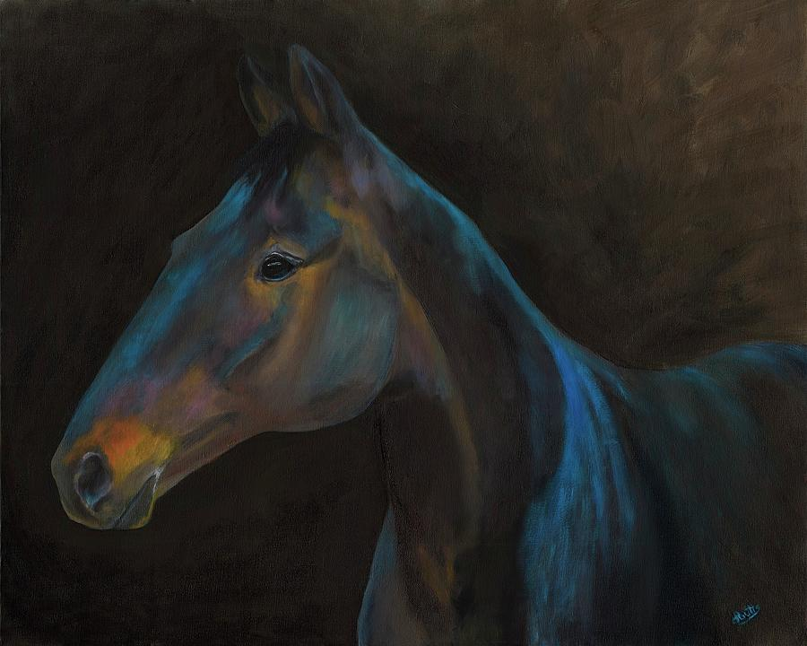 Out of Darkness Comes a Horse by Deborah Butts