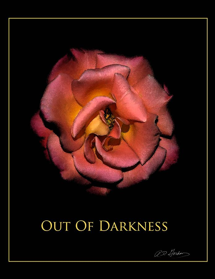 Out Of Darkness Photograph by Richard Gordon