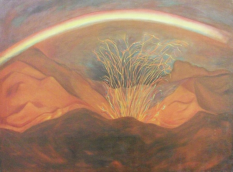 Rainbow Painting - Out Of Darkness by Suzanne  Marie Leclair