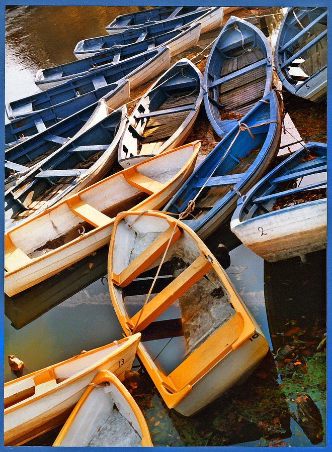 Rowboats Photograph - Out Of Season by Robert Lacy