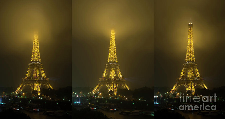 Out of the Fog in Paris by Tim Mulina
