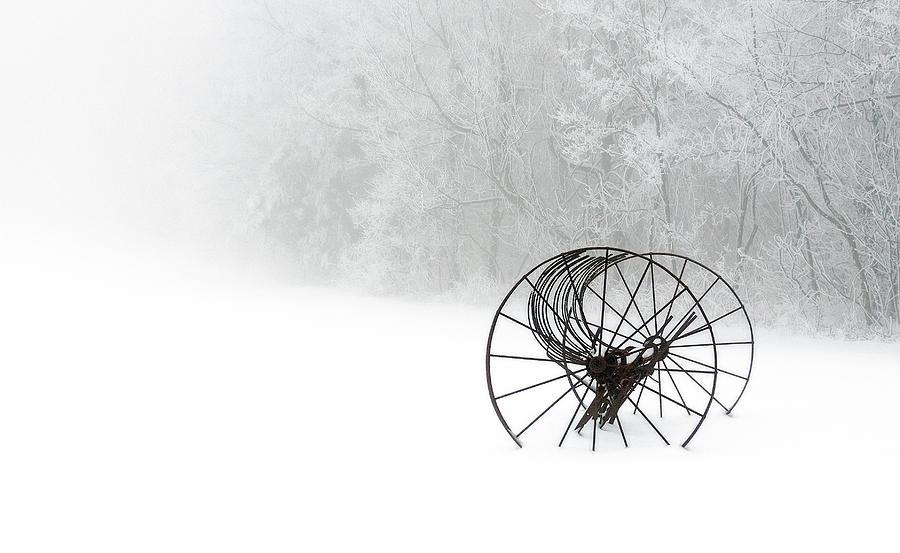 Out Of The Mist A Forgotten Era 2014 II Photograph