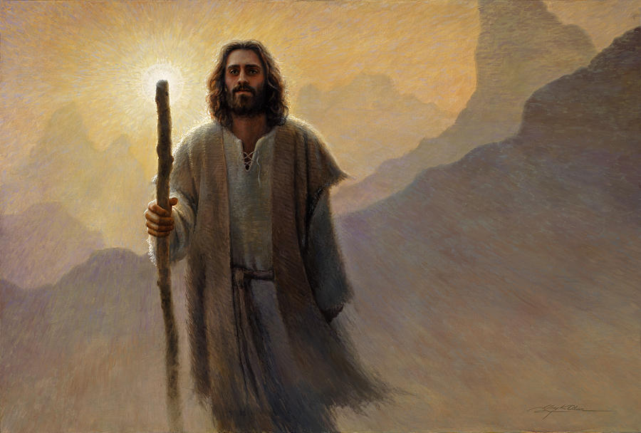 Jesus Painting - Out of the Wilderness by Greg Olsen