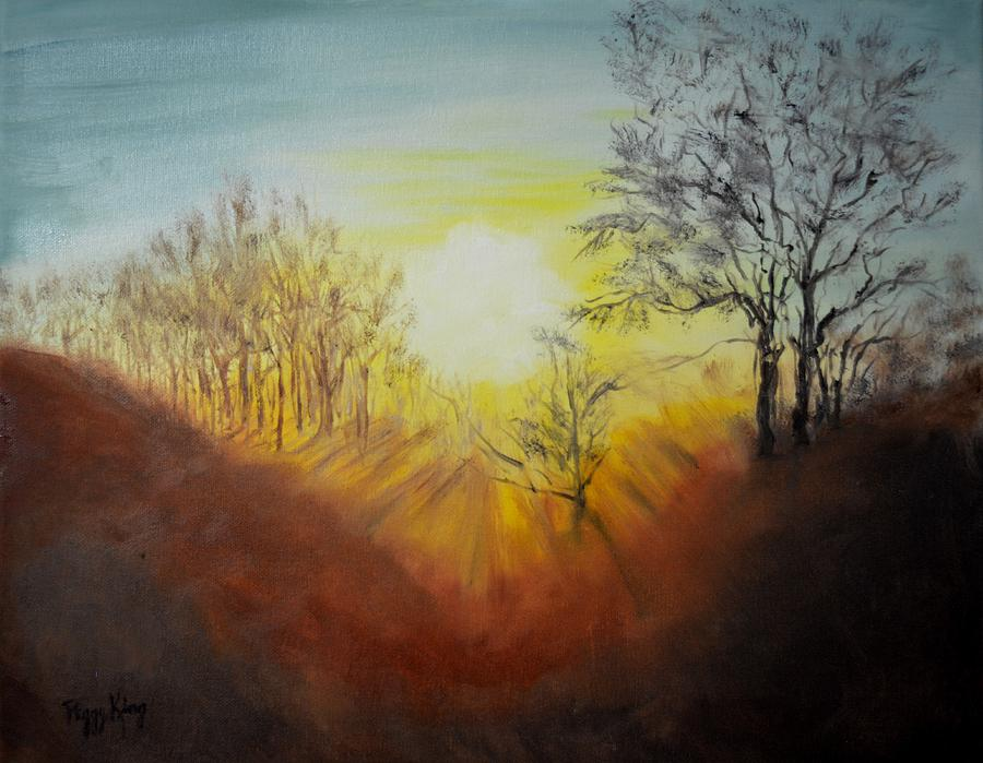 Out of the Winter Morning Mists - 1 by Peggy King