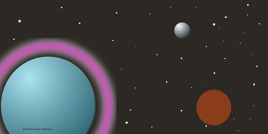 Out Of This World Digital Art by Michael Chatman