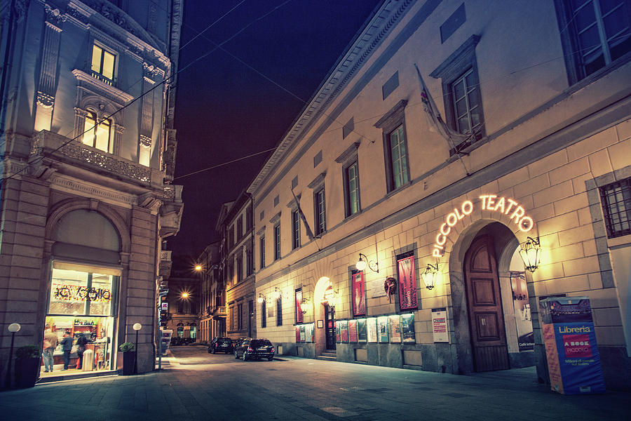 Out On The Town In Milan Photograph