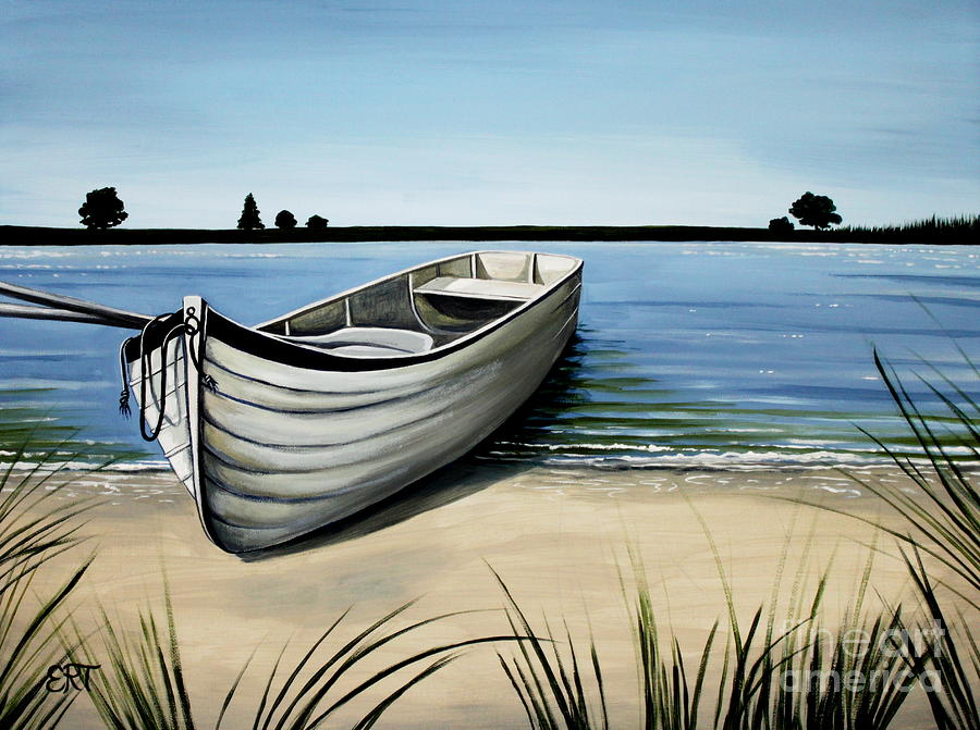 Out on the Water by Elizabeth Robinette Tyndall