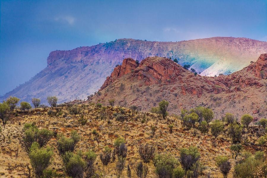 Outback Rainbow Photograph
