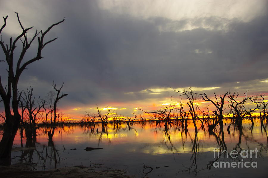 Sunsets Photograph - Outback Sunset by Blair Stuart
