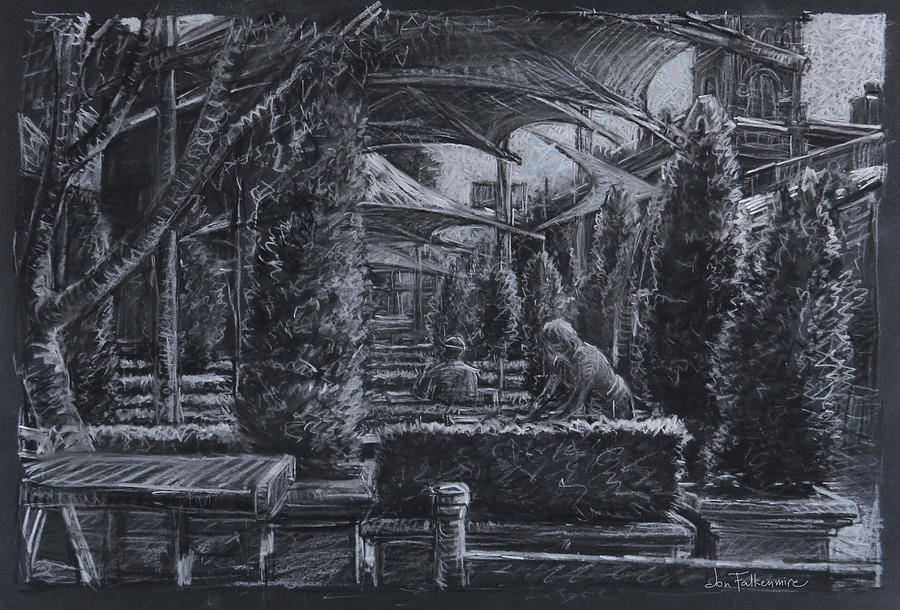 Outdoor Cafes, Armidale Nsw Drawing