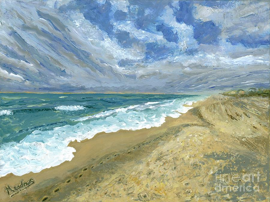 Impressionism Painting - Outer Banks, Nc by Kevin Meadows