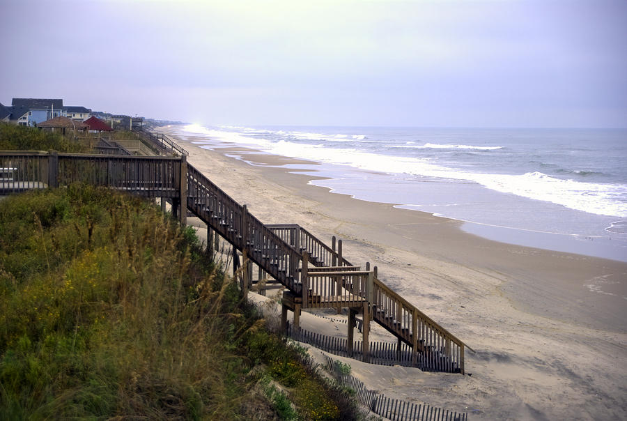 Beach Photograph - Outer Banks by Patrick  Flynn