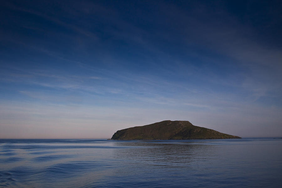 Blue Photograph - Outer Hebrides In Sunset by Gabor Pozsgai