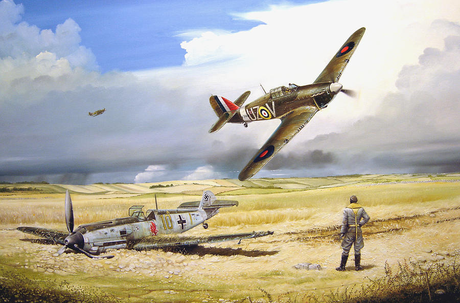Painting Painting - Outgunned by Marc Stewart