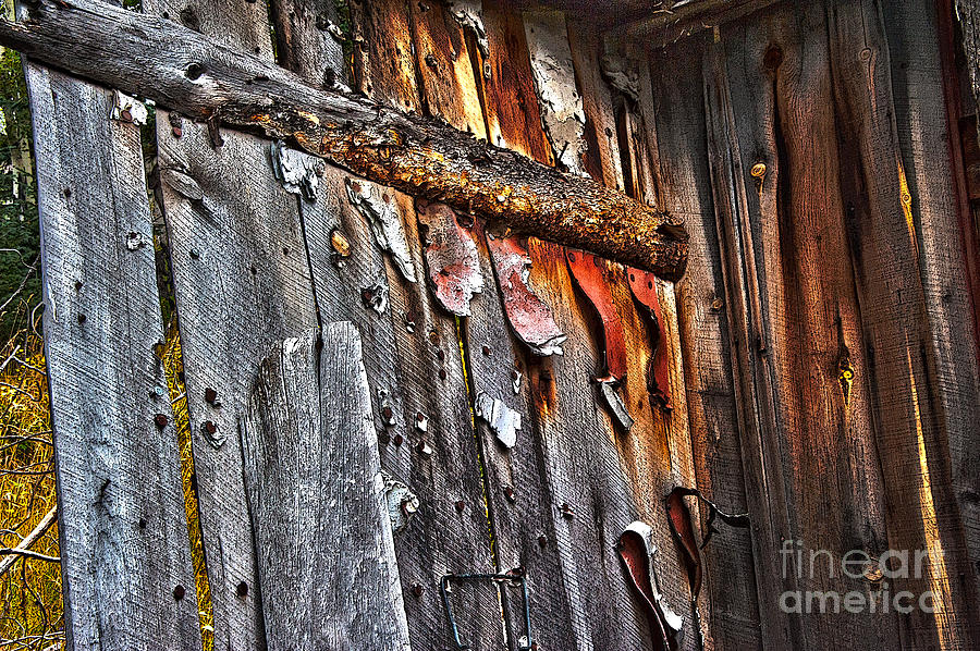 Architecture Photograph - Outhouse Holzworth Historic Site by Donna Sizemore