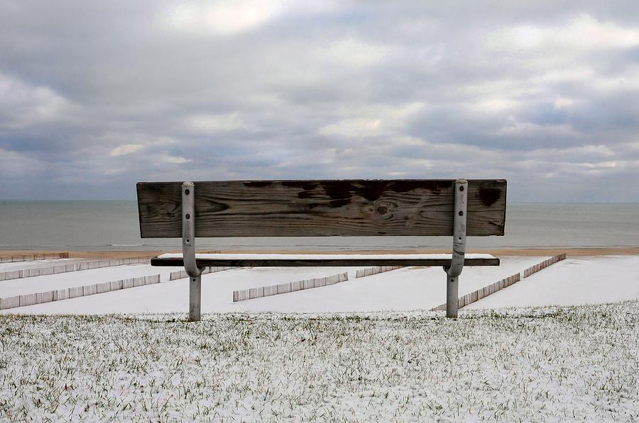 Bench Photograph - Outlook by Dan Holm