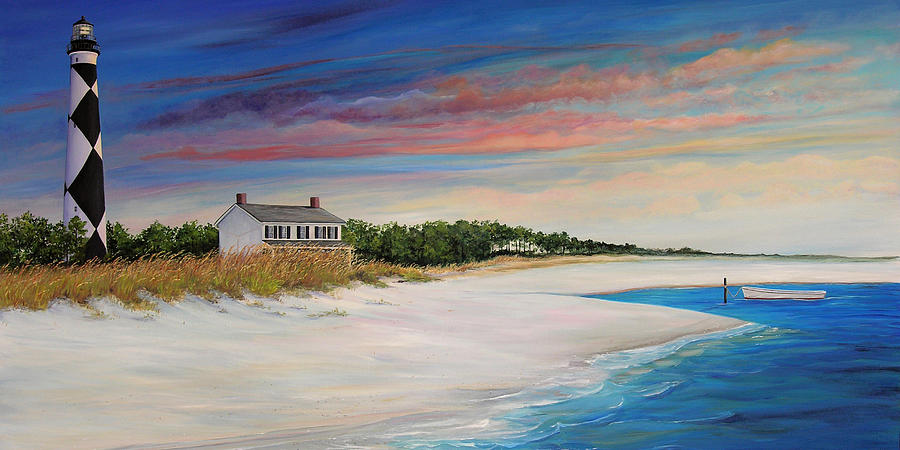 Cape Lookout Painting - Outlook II by Sharon Kearns