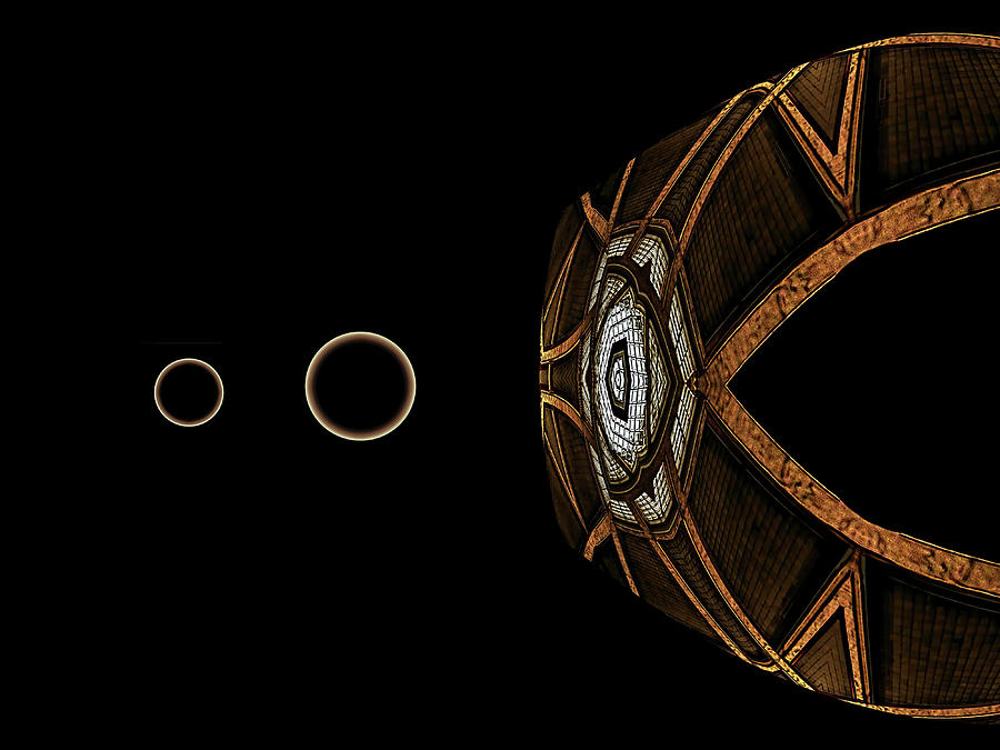 Eye Digital Art - Outreach by Wendy J St Christopher