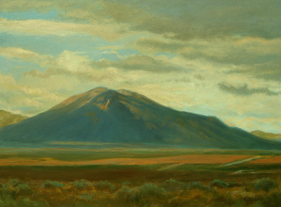 Southwest Painting - Outside Of Taos by Phyllis Tarlow