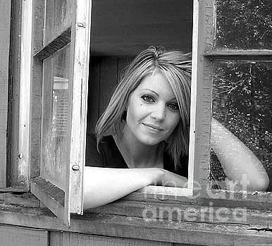 Window Photograph - Outside Perspective by Amanda  Sanford