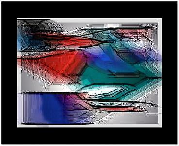 Digital Paint Digital Art - Over by Aline Pottier  Gama Duarte