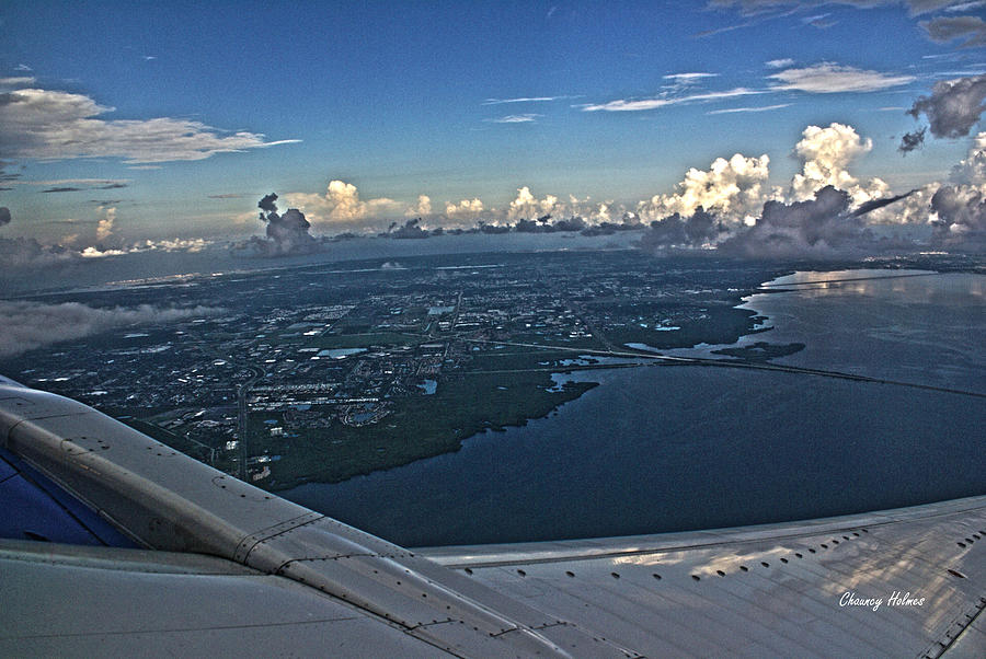 Tampa Photograph - Over Tampa by Chauncy Holmes