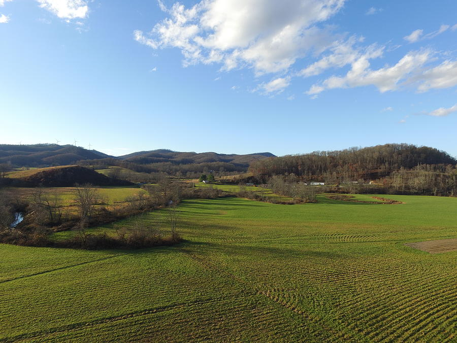 Farm Photograph - Over The Fields by Bill Helman