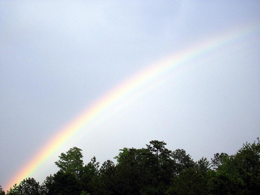 Rainbow Photograph - Over The Rainbow by Tina Antoniades
