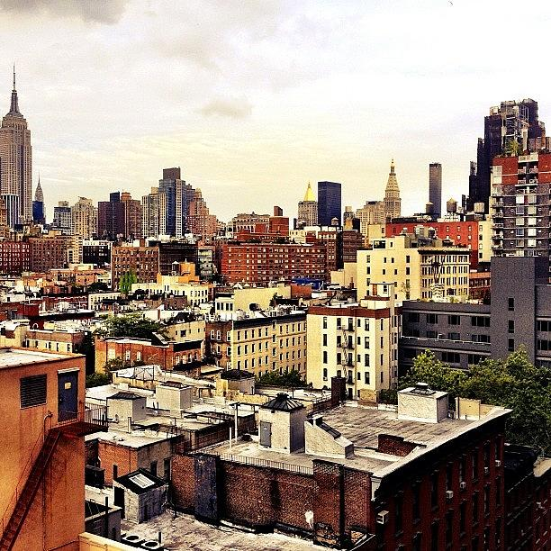 New York City Photograph - Over the Rooftops of New York City by Vivienne Gucwa