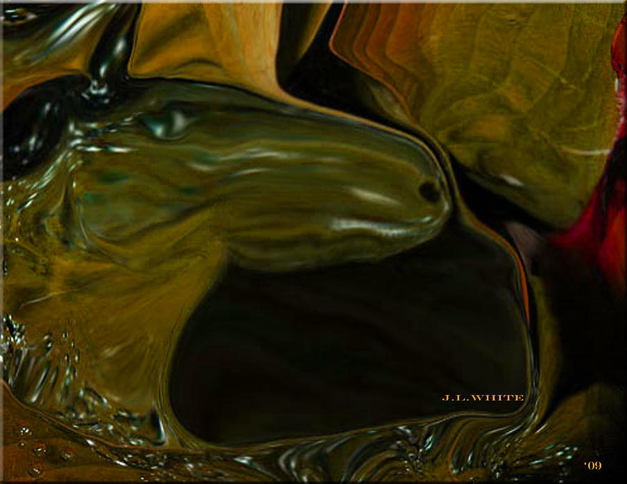Sargasso Sea Digital Art - Overboard In The Sargasso by Jerry White