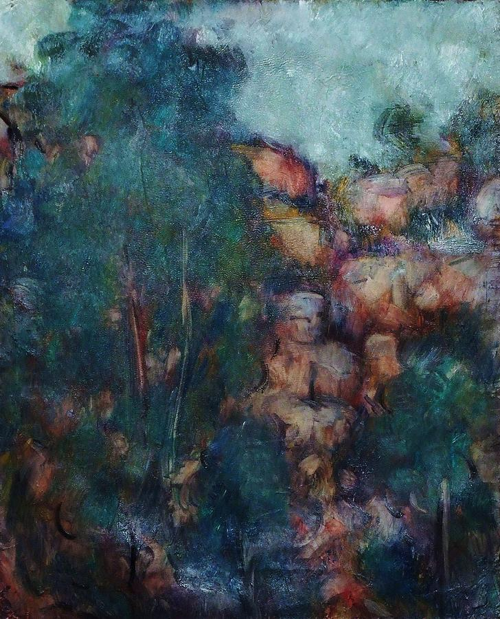 Landscape Painting - Overhang by Jean pierre  Harixcalde