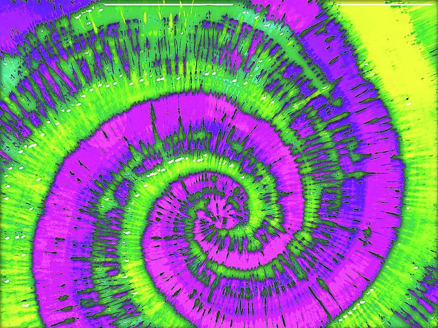 Hippie Digital Art - Overheard In 1969 by Wendy J St Christopher