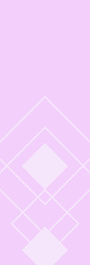 Overlapping Diamond Lavender Drawing