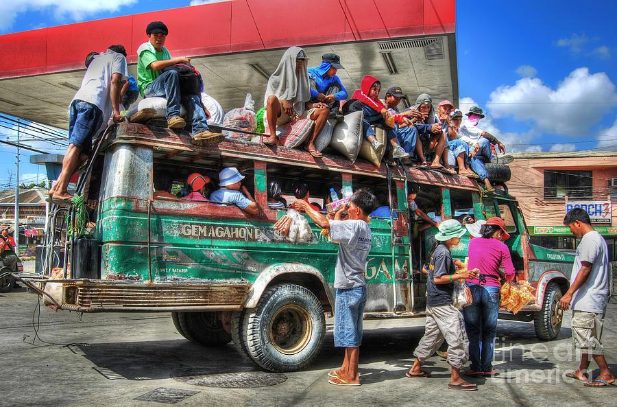 Yhun Suarez Photograph - Overload by Yhun Suarez